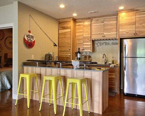 Basement kitchen ideas houzz for Basement kitchens ideas