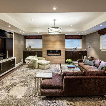 Lawrence Manor - Basement Family Room