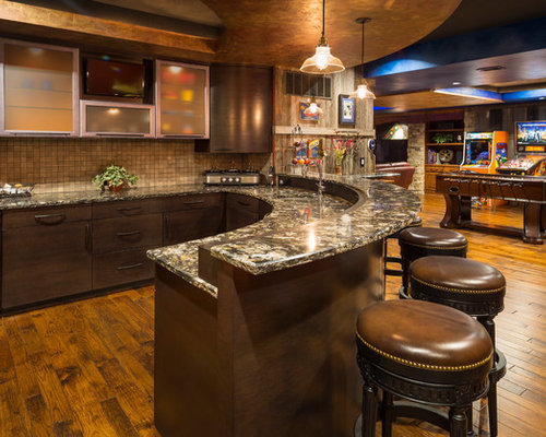 Half Moon Bar Home Design Ideas, Pictures, Remodel and Decor