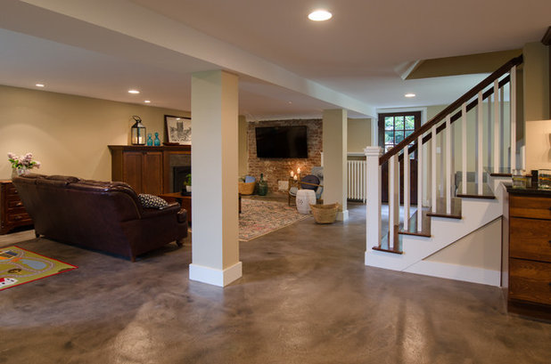 Basement of the Week: From Dumping Ground to Family Hangout