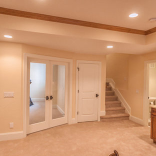 Littleton Basement Finish with high end finishes