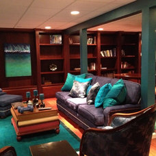 Traditional Basement by skip knoll inc professional remodeling
