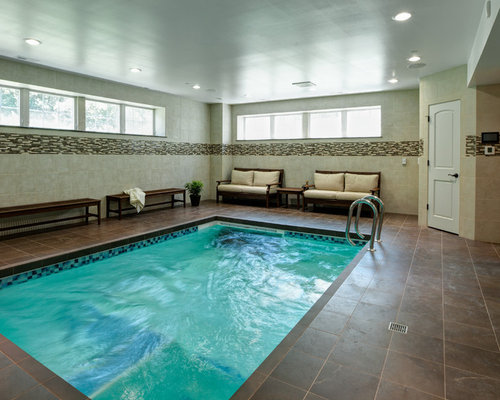 indoor basement pool | houzz