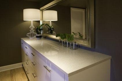 Modern Basement by Lord Design