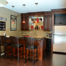 Traditional Basement by Barco Construction, Inc.