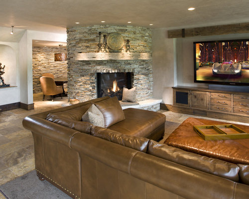 rustic basement design ideas pictures remodel decor