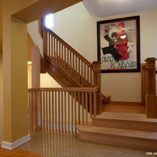 Traditional Basement by Airoom Architects-Builders-Remodelers