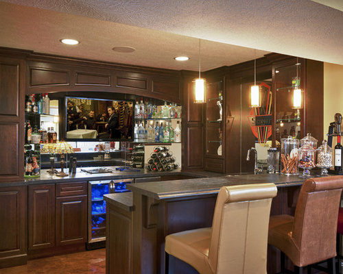 Inspiration For A Large Timeless Underground Concrete Floor And Brown Floor  Basement Remodel In Cleveland With