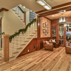 Craftsman Basement by LuAnn Development, Inc.