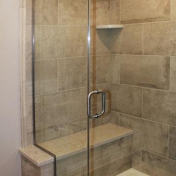 Luxury Basement Remodel, Mudroom, Built-ins