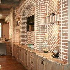 Traditional Basement by Alex Custom Homes, LLC