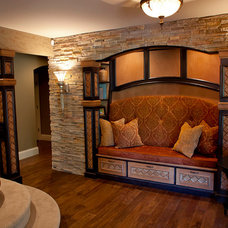 Traditional Basement by The Design Source Ltd