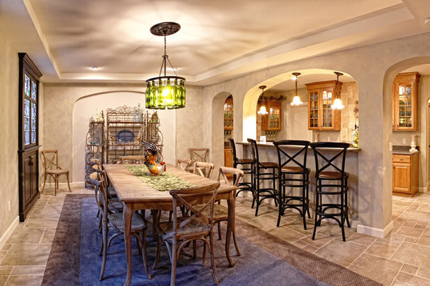 Basement Of The Week Mediterranean Wine Cellar Style In