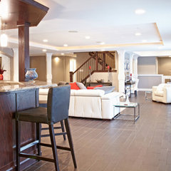 basement by M.J. Whelan Construction