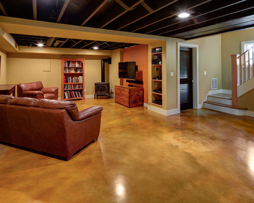 SaveEmail - Best Wood Burning Stove. Basement Design Ideas & Remodel Pictures