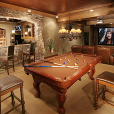 Traditional Basement by Ropposch Brothers Flooring