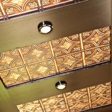 Craftsman Basement Martin Bar - Tin Ceiling