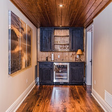 Traditional Basement by Urban Rustic Living