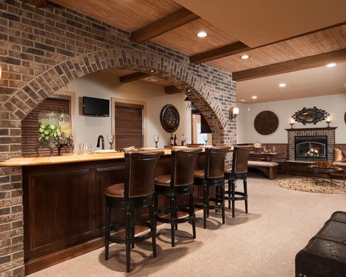 Brick Arch Home Design Ideas, Pictures, Remodel and Decor