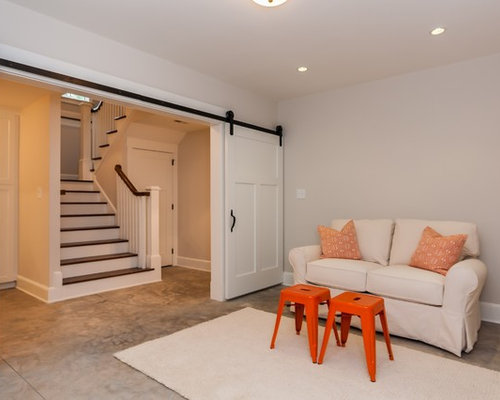 Affordable country basement design ideas renovations photos for Country basement ideas