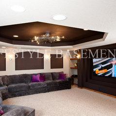 Lifestyle BasementsKitchens EDEN PRAIRIE MN US - Lifestyle basements