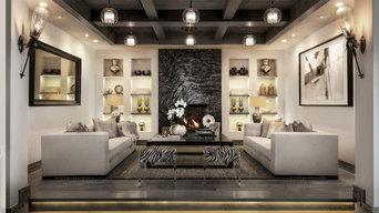 Mediterranean Mansion - Entertainment Seating