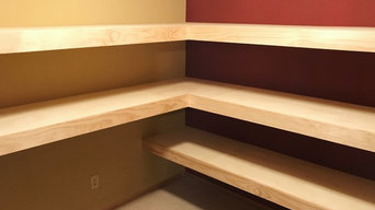 Mendota Heights Custom Shelves