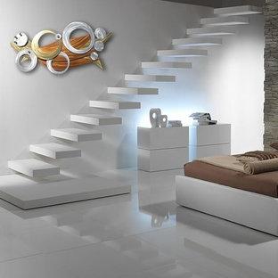 Inspiration for a modern basement remodel in Brisbane