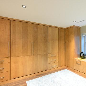 Midcentury Modern Basement Remodel