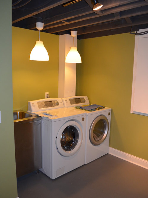 basement laundry home design ideas pictures remodel and decor