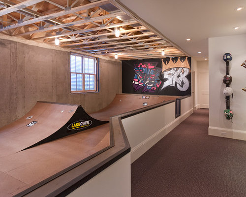 7 Basement Ideas On A Budget Chic Convenience For The Home: Indoor Ramp