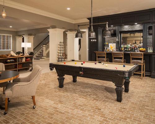 Lighting Basement Washroom Stairs: Basement Bar Ideas