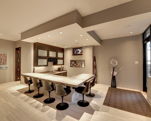 basement color ideas. Basement - Contemporary Look-out Ceramic Floor Idea In Minneapolis With Gray Walls Color Ideas D