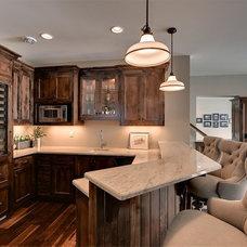 Traditional Basement by Stonewood, LLC