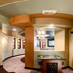 Man Cave 2 - Contemporary - Basement - Tampa - by KDS Interiors, Inc.