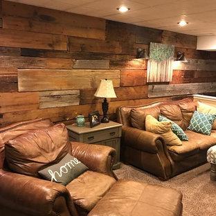 Mixed Reclaimed Barn Siding Feature Wall - Philadelphia