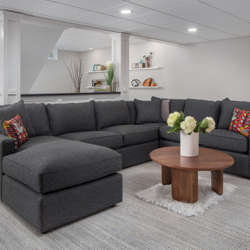 Modern and Comfortable Main Seating Area