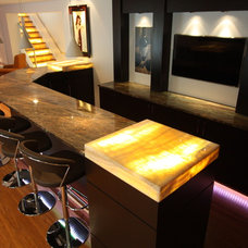 Modern Basement by Architectural Justice