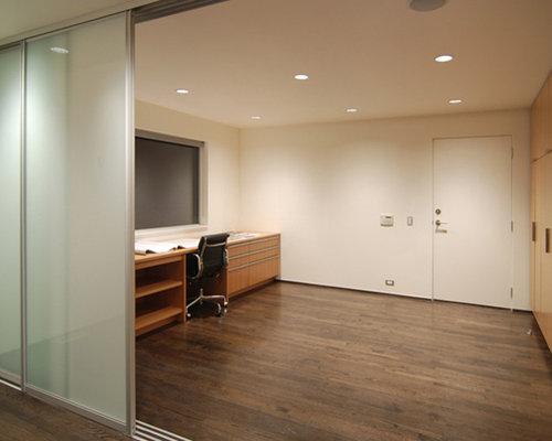 Interior sliding door houzz for Basement sliding doors