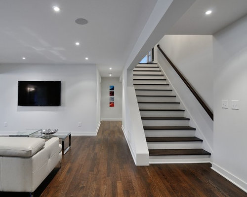 Best modern basement design ideas remodel pictures houzz for Modern basement ideas