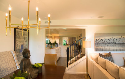Basement of the Week: A Man Cave Goes Chic and Family Friendly