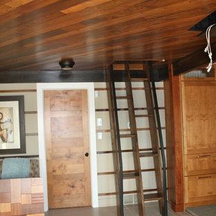 Exemple d'un sous-sol moderne.