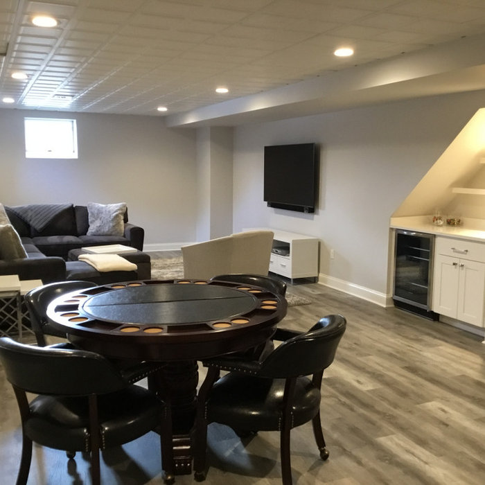 Modern Basement Renovation