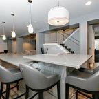 Cortland Residence Modern Basement Chicago By