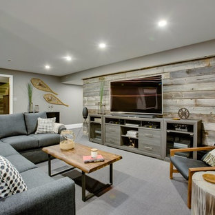 75 Most Popular Farmhouse Basement Design Ideas For 2018
