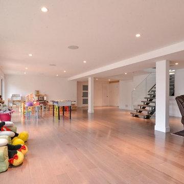Modern Home Grey Floor