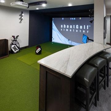 Modern Prairie Golf Simulator