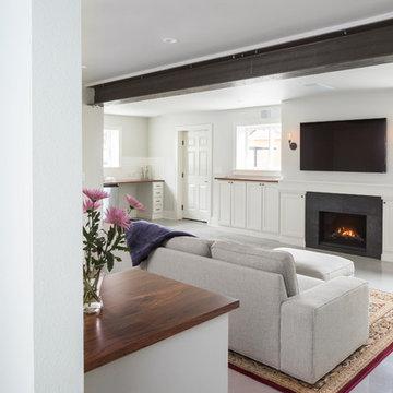 Modern Rustic Basement Dwelling