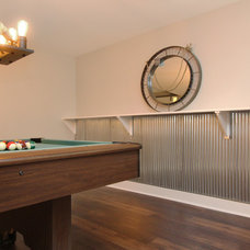 Modern Basement by Thompson Remodeling