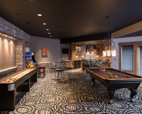 Game Room Carpeting Houzz
